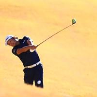 ツアー初勝利を狙う香妻陣一朗は2打差逆転が必要になった 2018年 カシオワールドオープンゴルフトーナメント 3日目 香妻陣一朗