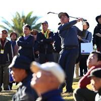 こんなとこまで曲げちゃいました 2018年 カシオワールドオープンゴルフトーナメント 3日目 古田幸希