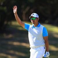 今日も元気ハツラツ2位タイ 2018年 カシオワールドオープンゴルフトーナメント 3日目 嘉数光倫