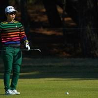 前半からもう少し早いチャージが必要だったか。 2018年 LPGAツアー選手権リコーカップ 最終日 比嘉真美子