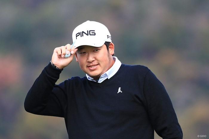 前年の下部ツアー賞金王・大槻智春はレギュラーツアーで初シードを獲得した 2018年 カシオワールドオープンゴルフトーナメント 最終日 大槻智春