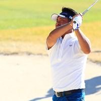 このバンカーからは2オン狙えない 2018年 カシオワールドオープンゴルフトーナメント 最終日 池田勇太