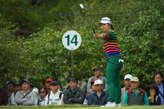 2018年 LPGAツアー選手権リコーカップ 最終日 比嘉真美子 1打差で3位に終わった比嘉真美子。メジャー制覇はならなかった