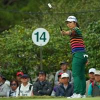1打差で3位に終わった比嘉真美子。メジャー制覇はならなかった 2018年 LPGAツアー選手権リコーカップ 最終日 比嘉真美子