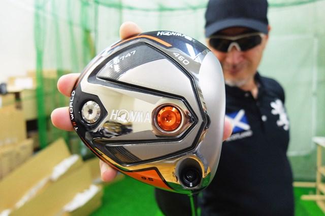 「本間ゴルフ ツアーワールド TW747 460 ドライバー」をマーク金井が徹底検証