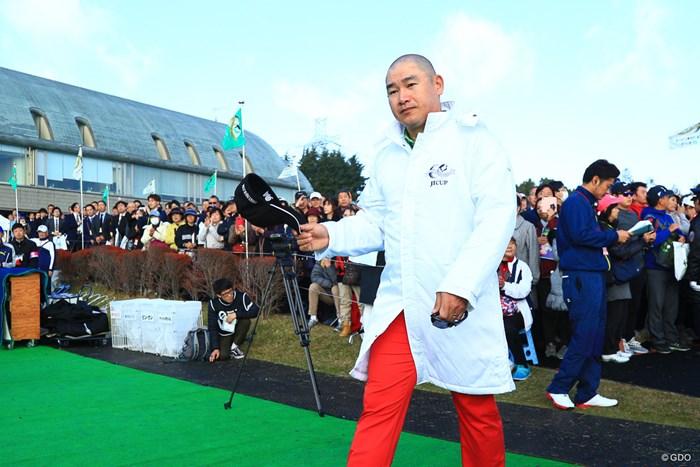 マルコメ味噌のCM決まったな。 2018年 ゴルフ日本シリーズJTカップ 初日 アンジェロ・キュー