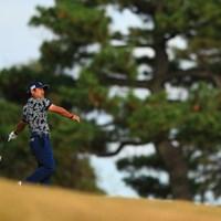 流行りで言うと虎さん風 2018年 ゴルフ日本シリーズJTカップ 初日 宮里優作