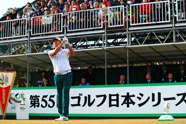 出水田大二郎は「66」でプレーし、4アンダー2位で終えた