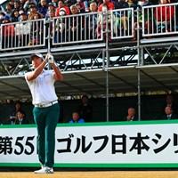 出水田大二郎は「66」でプレーし、4アンダー2位で終えた 2018年 ゴルフ日本シリーズJTカップ 初日 出水田大二郎