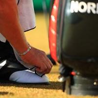 ノリスの靴磨き 2018年 ゴルフ日本シリーズJTカップ 2日目 ショーン・ノリス