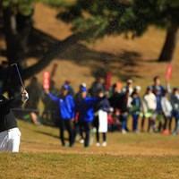 今日は調子が悪そうでした。26位まで後退 2018年 ゴルフ日本シリーズJTカップ 2日目 木下裕太