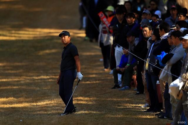 2018年 ゴルフ日本シリーズJTカップ 3日目 時松隆光 時松隆光が「67」でプレーし首位と3打差で最終日を迎える