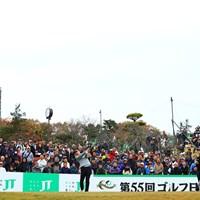 最終戦はやはり盛り上がる 2018年 ゴルフ日本シリーズJTカップ 最終日 Y.E.ヤン