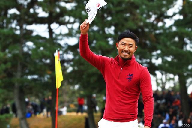2018年 ゴルフ日本シリーズJTカップ 最終日 小平智 国内ツアー通算7勝目、連続勝利を6年に更新