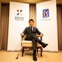 日本で初めてのPGAツアーは2019年10月に開幕 2018年 ZOZO前澤友作社長