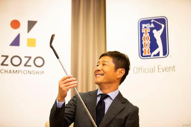 PGAツアーの新規大会「ZOZO CHAMPIONSHIP」のスポンサーとなった株式会社ZOZOの前澤友作社長