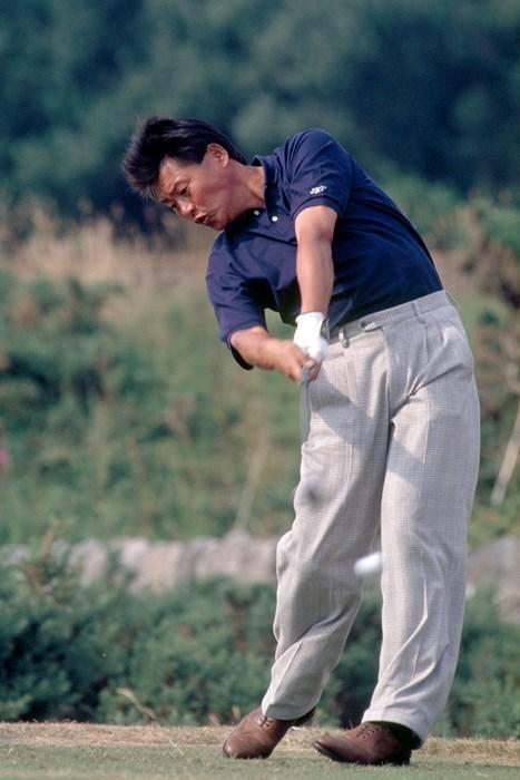 1989年の全英オープンに出場した尾崎健夫(Phil Sheldon/Popperfoto/Getty Images) 1989年 全英オープン 尾崎健夫
