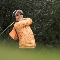 ゴルフイベントに参加した宮里藍さん。一カ月半ぶりにクラブを握った 宮里藍さん