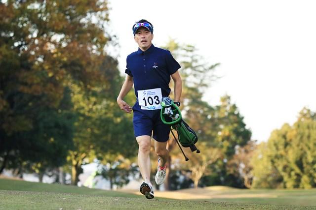 スピードゴルフで大会5連覇中。日本の絶対王者、松井丈さん