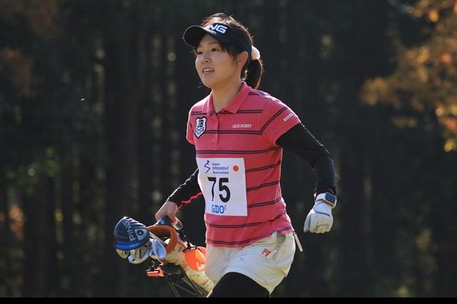 全体でも3位というSGSで回った宮崎千瑛さん