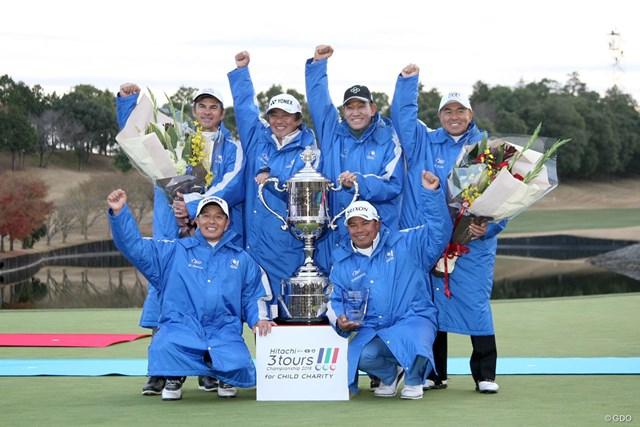今年の国内ツアー日本一はシニア!6年ぶり3回目の優勝を飾った