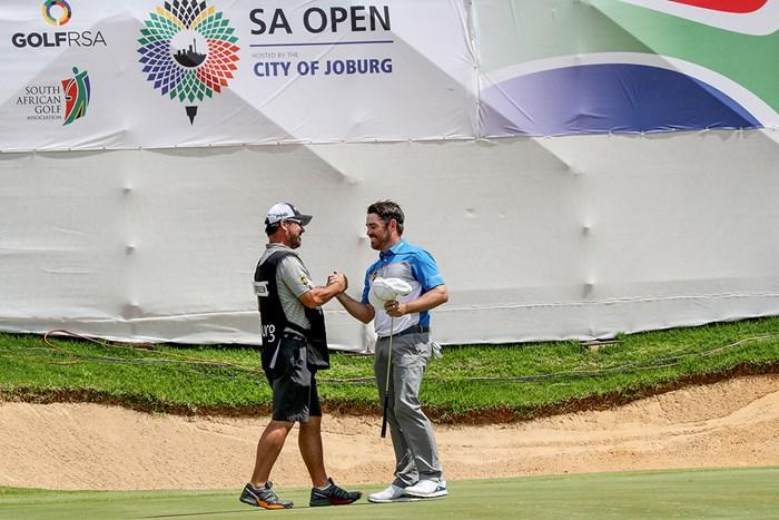 ルイ・ウーストハイゼンは母国のナショナルオープンを制した(David CannonGetty Images) 2019年 南アフリカオープン hosted by ヨハネスブルグ 最終日 ルイ・ウーストハイゼン