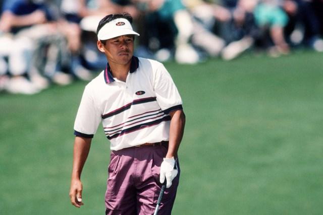 尾崎直道は1990年にマスターズ初出場を遂げた(Augusta National/Getty Images)