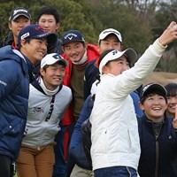若手プロと一緒にフューチャーツアーに参加する石川遼。ジュニア選手たちも大喜び 2018年 フューチャーツアー 石川遼