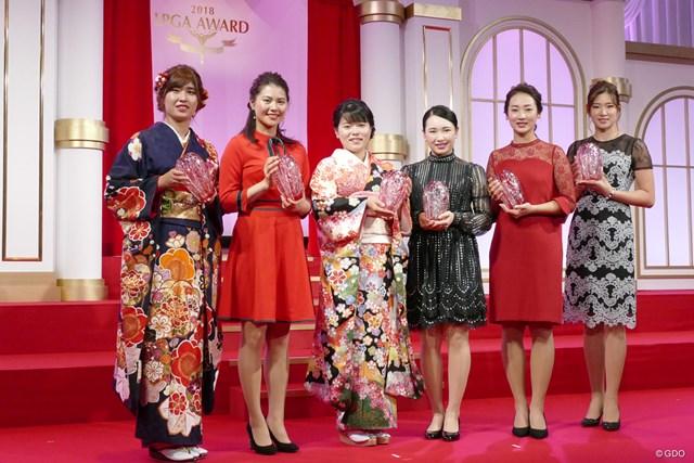 敢闘賞 敢闘賞は今年を象徴する若手プロたちが受賞した