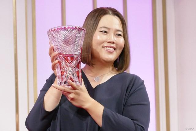 アン・ソンジュ 4度目の賞金女王に輝いたアン・ソンジュ。あと2勝に迫った永久シードを次なる目標とした