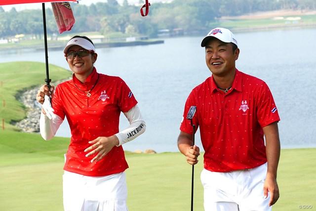 時松隆光&原英莉花 時松隆光&原英莉花のペアが日本の2勝すべてを挙げた