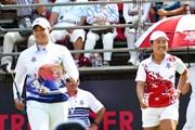 2018年 アマタフレンドシップカップ 最終日 畑岡奈紗&アリヤ・ジュタヌガン