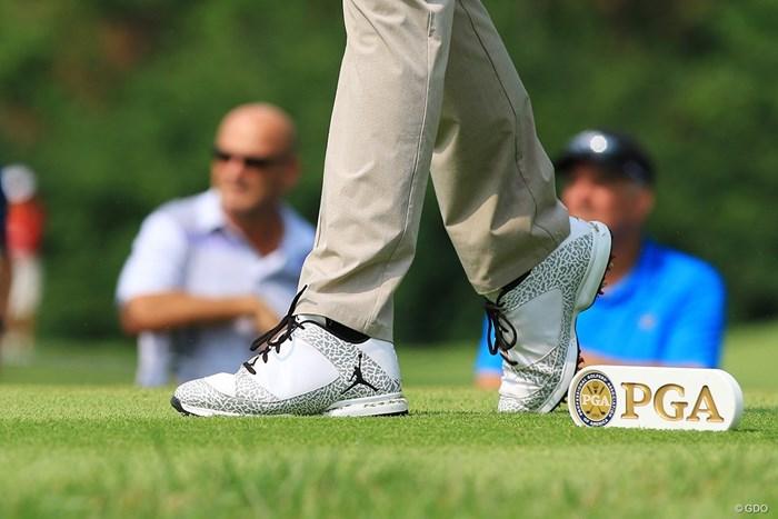 キーガン・ブラッドリーが履くシューズ。PGAツアーの選手たちの足元に注目! キーガン・ブラッドリー