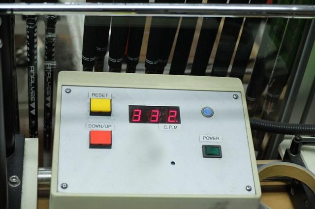 試打クラブのシャフト「NSプロ モーダス3 ツアー120」の(S)の振動数は332cpm
