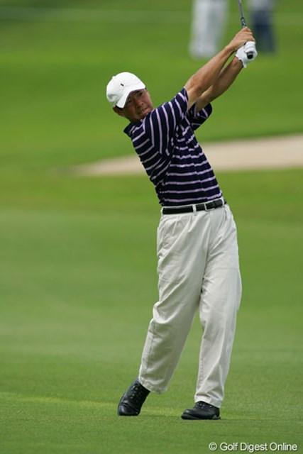 2004年 日本プロゴルフ選手権大会 3日目 今野康晴 7ストローク伸ばした今野康晴が首位に浮上!