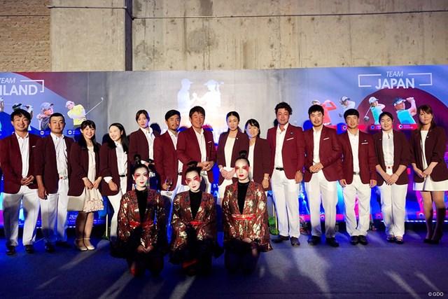 タイでのアマタフレンドシップカップに出場した日本チーム