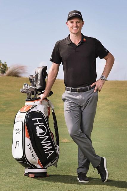 ジャスティン・ローズが本間ゴルフと複数年契約(※写真は本間ゴルフ提供)