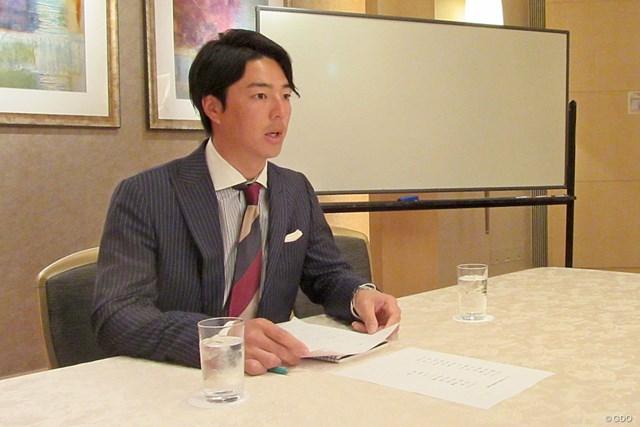 2019年シーズンに向けて構想を語った石川遼