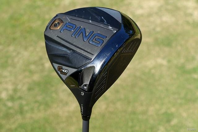 1Wはピンゴルフの「G400 マックス ドライバー」を使用