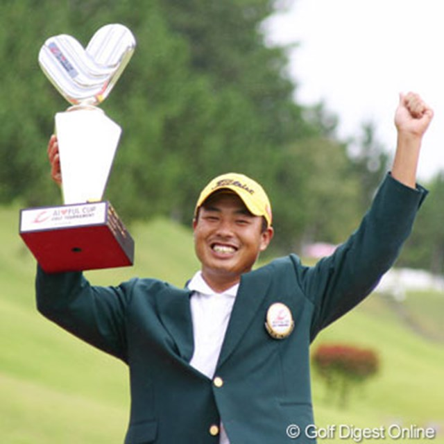 プロ3年目の谷口拓也が嬉しいツアー初優勝を飾った