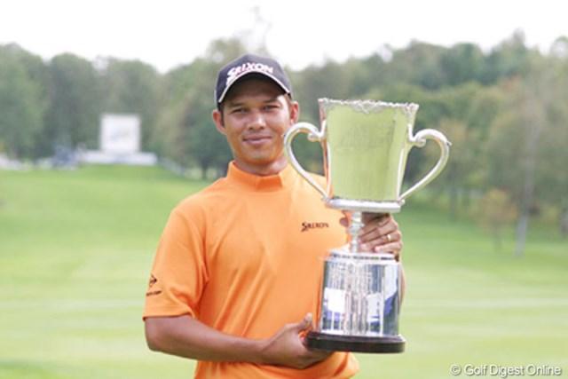 2004年 ANAオープンゴルフトーナメント 最終日 チャワリット・プラポール 絶妙のパッティングでパーを拾い続けたC.プラポール