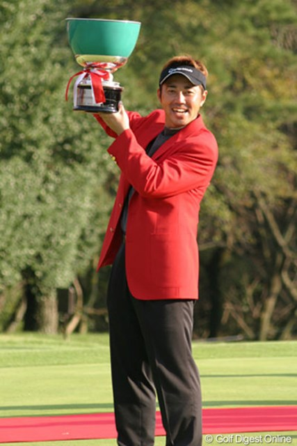 2004年 コカ・コーラ東海クラシック 最終日 今井克宗 プレーオフで細川を降し、今季初勝利を飾る