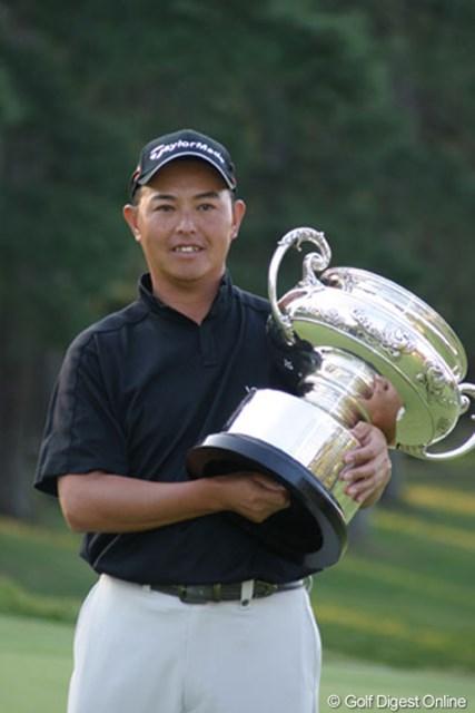 2年ぶりの優勝は日本メジャー初制覇だった谷口徹
