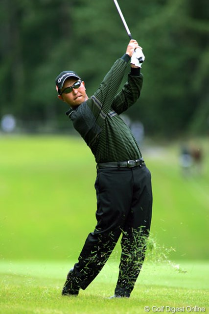 2004年 ブリヂストンオープンゴルフトーナメント 最終日 谷口徹 クレバーなゴルフをした谷口徹が2週連続優勝!賞金ランキングも2位に浮上した