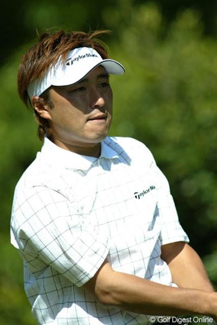 2004年 ABCチャンピオンシップゴルフトーナメント 3日目 井上信 18番で連日のイーグル!井上信がツアー初優勝のチャンス!