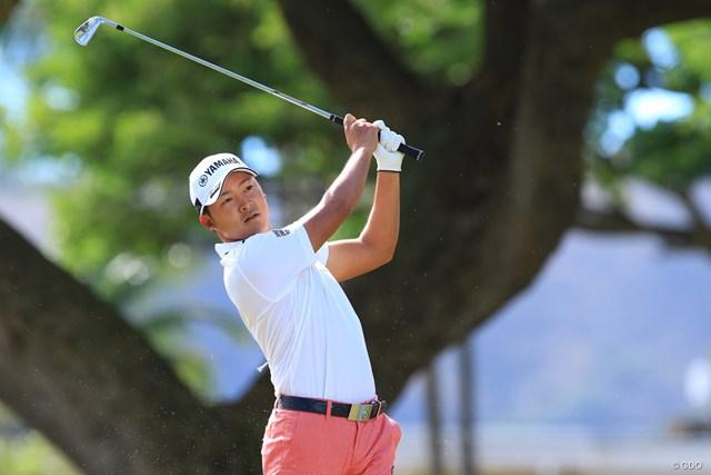 マスターズ出場が決まった日本の賞金王がハワイで躍進!