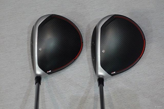 M5(左)とM6(右)。クラウン前部のシルバーラインが前作よりも細くなっている