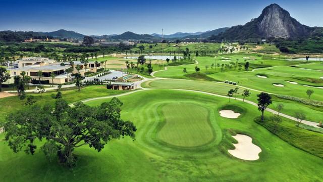 チーチャン・ゴルフリゾートの空撮写真(コース提供)