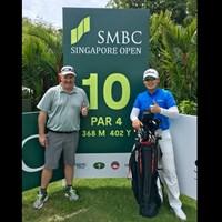 今年もシンガポールで新年初戦です! 2019年 SMBCシンガポールオープン 事前 川村昌弘