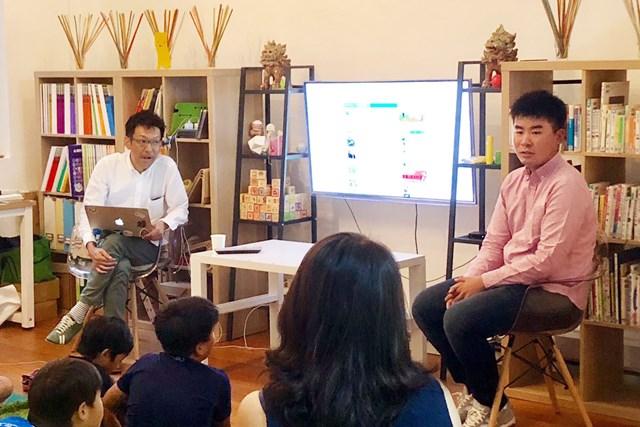 """2019年 SMBCシンガポールオープン 事前 川村昌弘 シンガポールの学習塾で""""先生""""になってきました"""